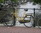 Typical Amsterdam Bicycle