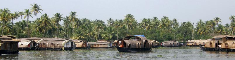 The Backwaters near Alleppey